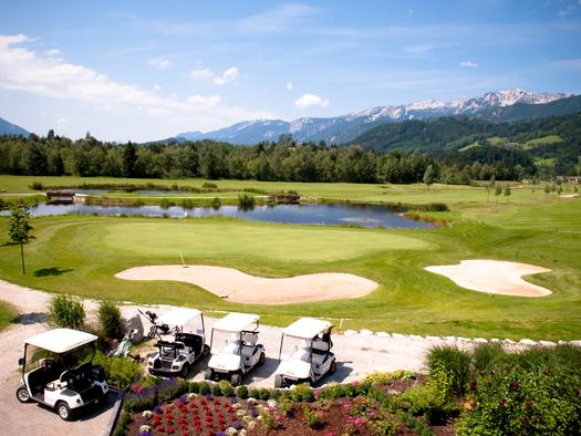 Golfplatz Windischgarsten Pyhrn-Priel (© OÖ Tourismus)