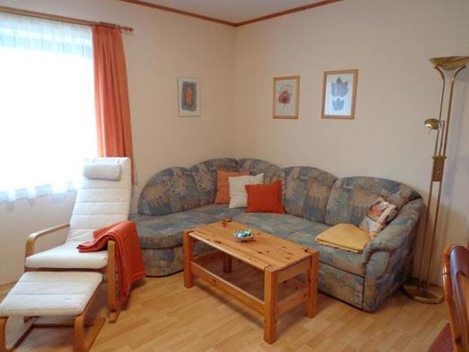 Wohnzimmer (© Ferienwohnung Mitteregger)