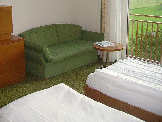 Panorama Zimmer grün