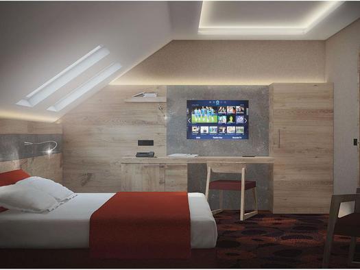 Deluxe-Doppelschlafzimmer