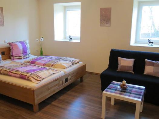 Appartement mit Schlafsofa