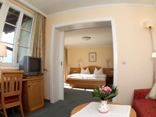 Suite mit Balkon und Veranda