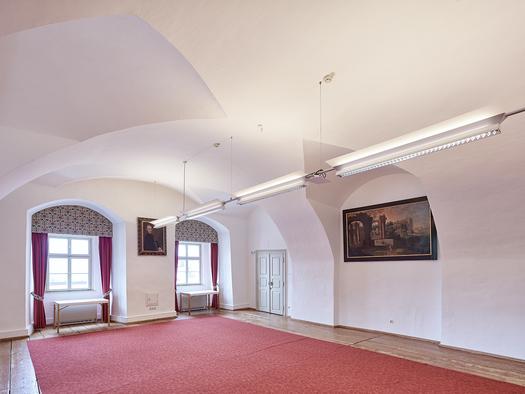 Schloss Weinberg, Seminarraum Bruckner. (© Schloss Weinberg / Kurt Hörbst)