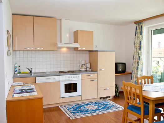 Appartement Hotel Bramosen Küche (© Hotel Bramosen)