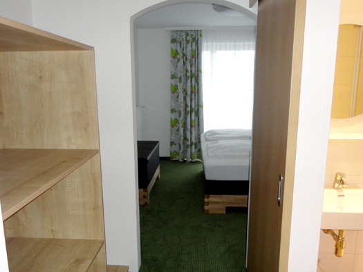 Ansicht Doppelzimmer (© G-Hilz)