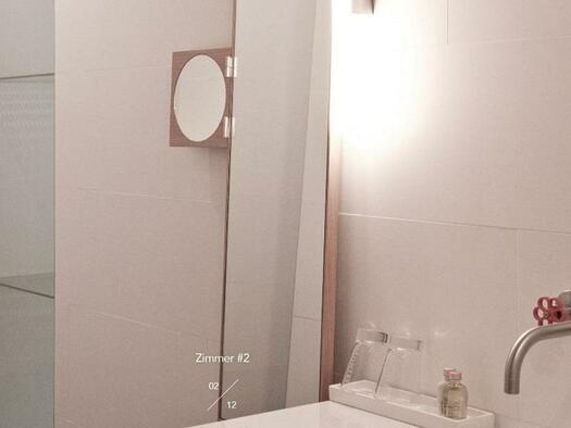Badezimmer - Detail (© Hotel-Restaurant Mühltalhof)