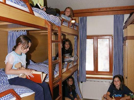 Zimmer mit Stockbetten