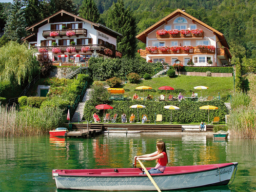 Haus Windhager am Wolfgangsee. (© Windhager)