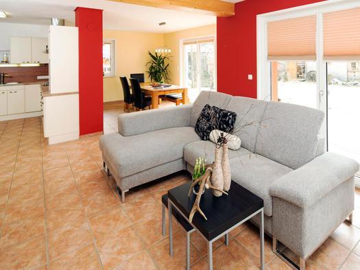 Wohnraum in der Wohnung Hirscherl (© Zum Hirschloser)