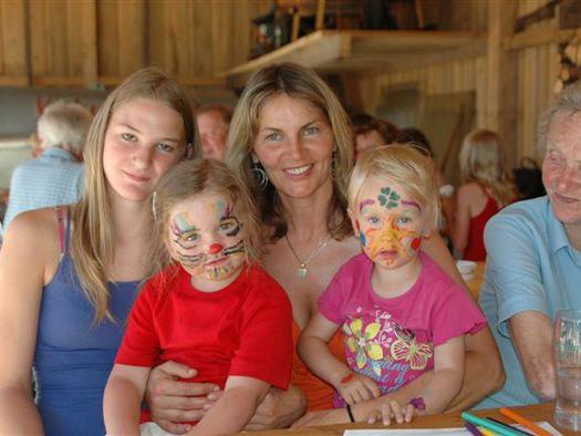 Kinder facepainting