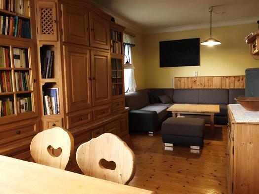 Wohnbereich (© Ferienhaus in der Schlipfing)
