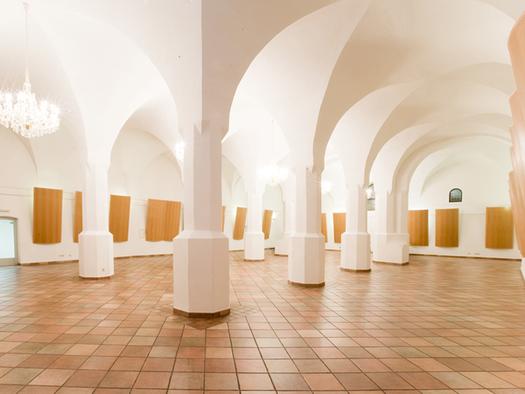 Hall with pillards. (© Schloss Mondsee)