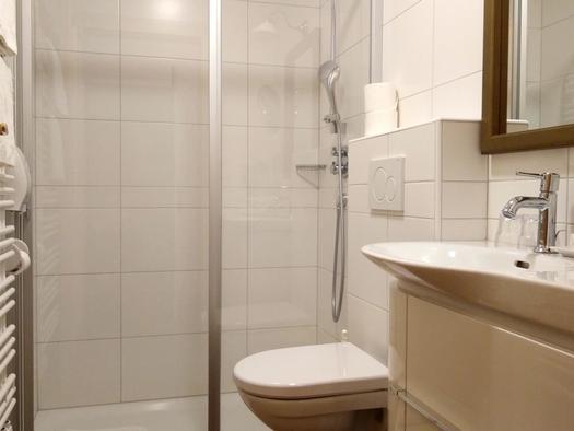Dusche /WC (© Andrea Bergbaur)