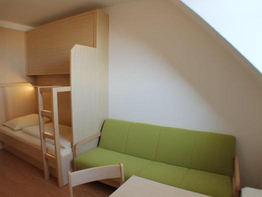 Jugendgästehaus Einzelzimmer. (© Jugendgästehaus)