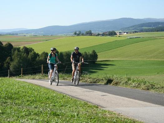 Radgenuss im Böhmerwald