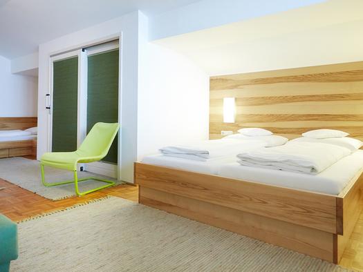 Beispielbild Premiumzimmer Hotel Föttinger in Steinbach am Attersee. (© Hotel Föttinger)