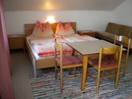 Doppelzimmer. (© Familie Jedinger)