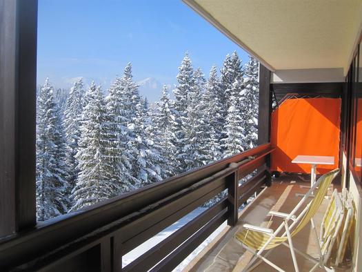 Aussicht vom Balkon (© Leslie Sedlak)