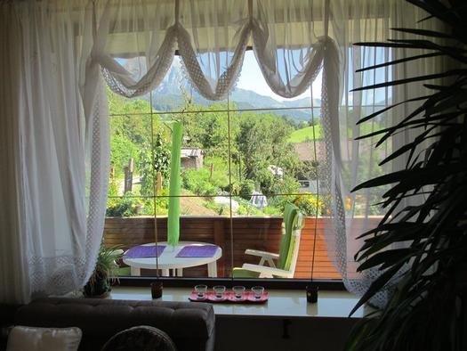 Panoramablick aus Wohnzimmer