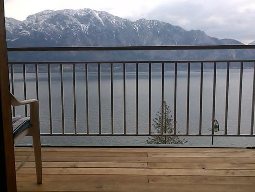 Aussicht vom Balkon. (© Gudrun Loindl)