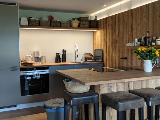 Wohnung Bergglück - Küche (© dasGams)