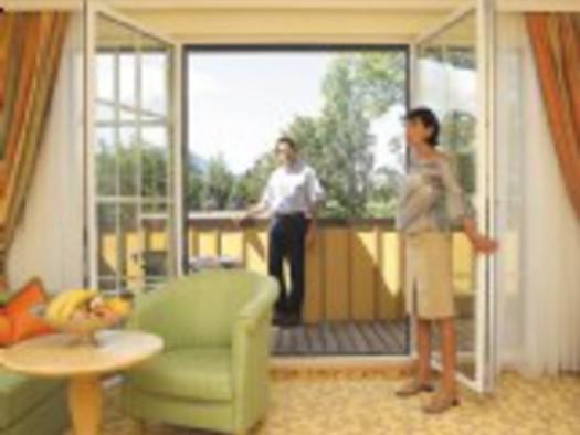 Familienzimmer mit Balkon
