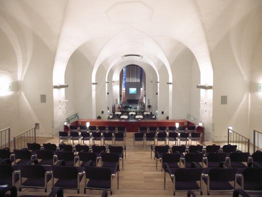Minoriten Kirchenschiff (© Wels Marketing & Touristik)