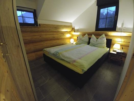 Zwergenhäusl Schlafzimmer (© Kleinehellefort)