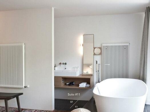 Badewanne mit Terrasse (© Hotel-Restaurant Mühltalhof)