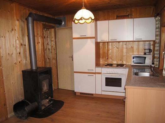 Die Hütte Küche