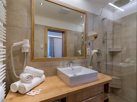 Badezimmer Margerite (© fischerwirt)