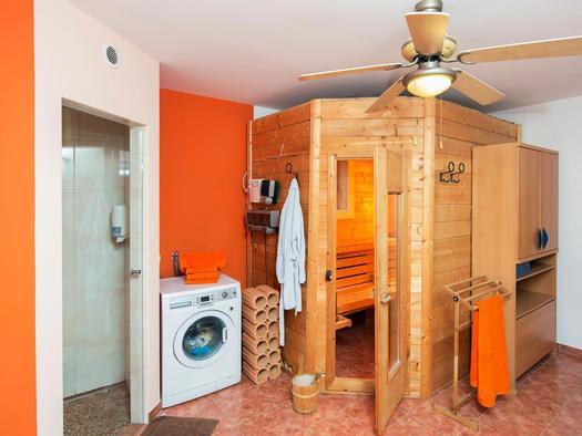 Sauna in der Wohnung Hirscherl (© Zum Hirschloser)