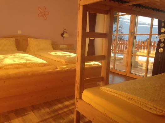 Wintersonne im Schlafzimmer (© A. Gösweiner)