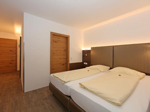 Beispiel Doppelzimmer. (© Elisabeth Poringer)