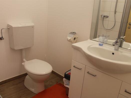 Dusche und WC (© BezirksRundschau)