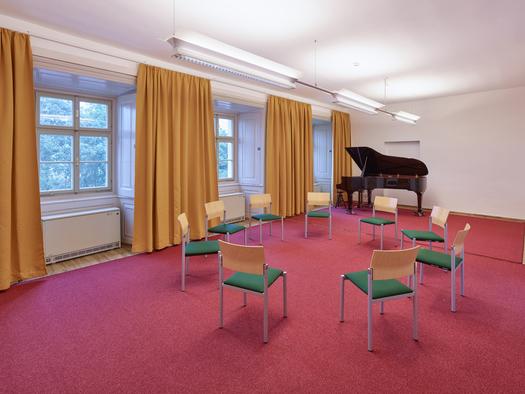 Schloss Weinberg, Seminarraum Gulda. (© Schloss Weinberg / Kurt Hörbst)