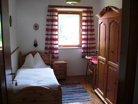 Einbettzimmer mit herrlicher Aussicht