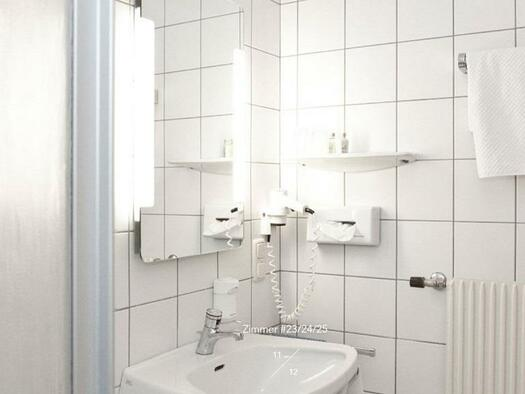 Badezimmer (© Hotel-Restaurant Mühltalhof)