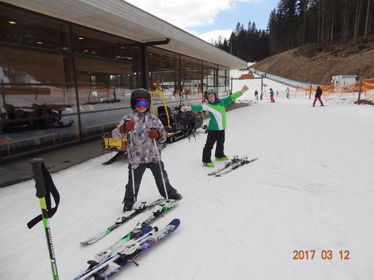 Skispass für Groß und Klein (© privat)