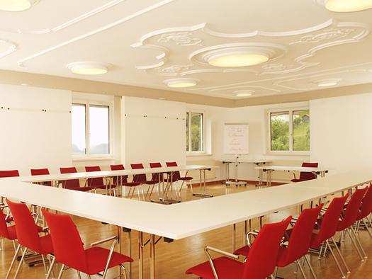 Seminarraum Burgblick. (© Landhotel Hoftaverne Atzmüller)