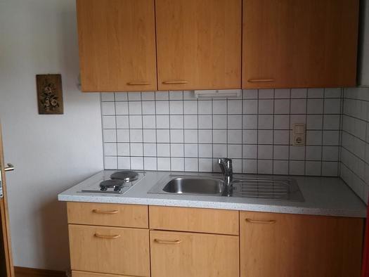 Küchenzeile im Apartment (© A. Hofmann)