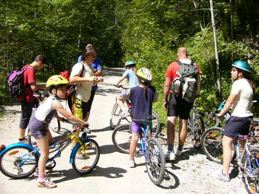Wanderurlaub in Österreich-Radfahren