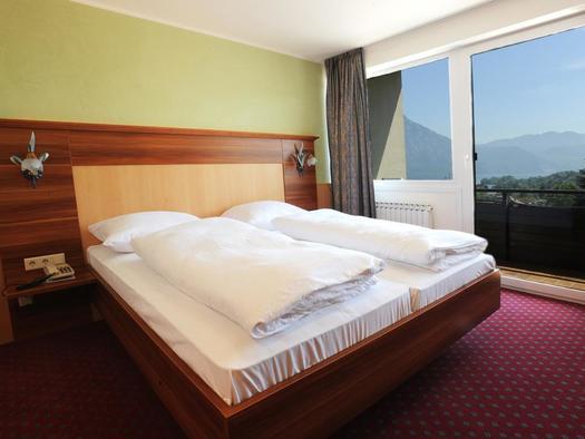 Doppelzimmer mit Balkon (© Hotel Hocheck)