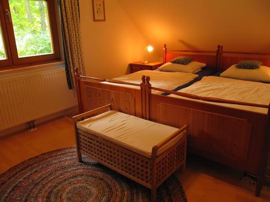 Schlafzimmer (© Landhaus – Huhle)