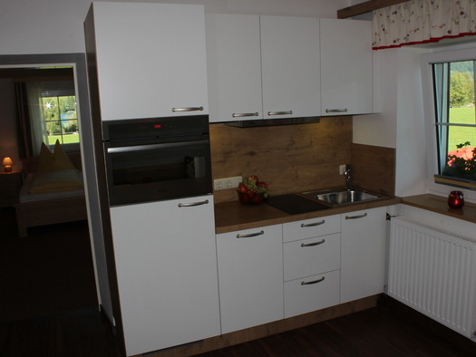 Plombergbauer FEWO Küchenzeile. (© Familie Greinz)