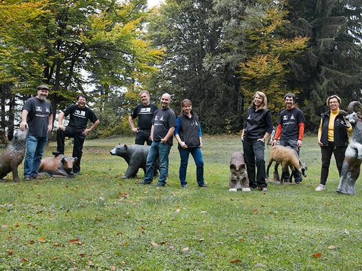 das Mitarbeiter Team im Bogensportzentrum Breitenstein. (© Bogensortzentrum Breitenstein)