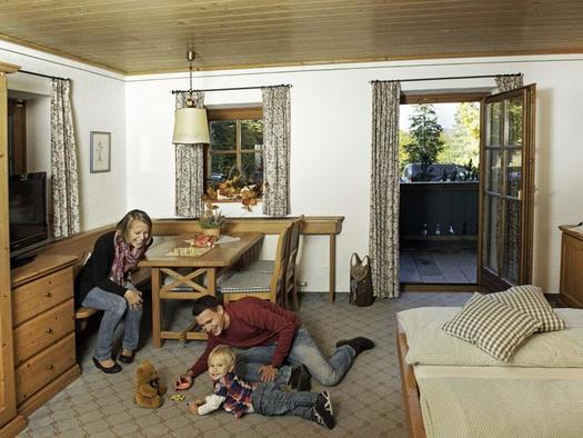 Familienzimmer Famliy Top (© Hochberghaus GmbH)