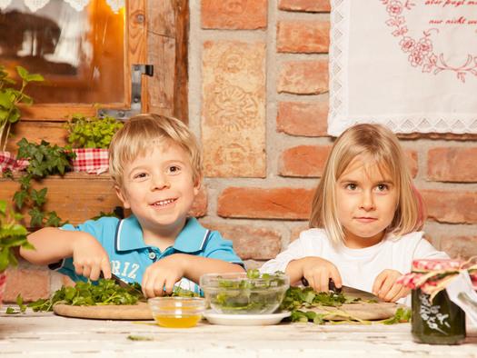 Via Culinaria 4 kids - Alm Pesto (© Fuschlsee Tourismus GmbH)