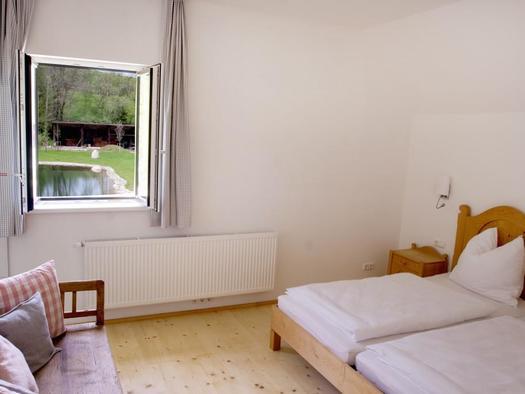unsere neu eingerichteten Doppelzimmer (© privat)