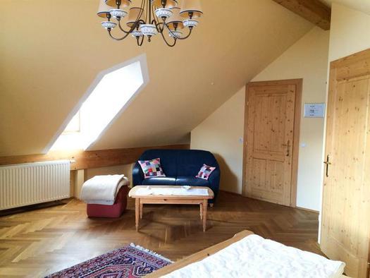 Doppelzimmer Seeblick (© Schweizerhof am See)